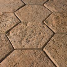 FabroStone Cotto Hexa homok térburkolat