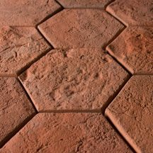 FabroStone Cotto Hexa terrakotta térburkolat