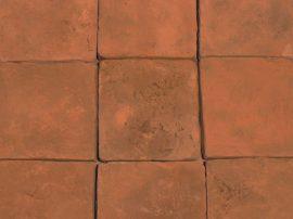 FabroStone Cotto Tavella 20x20cm terrakotta térburkolat